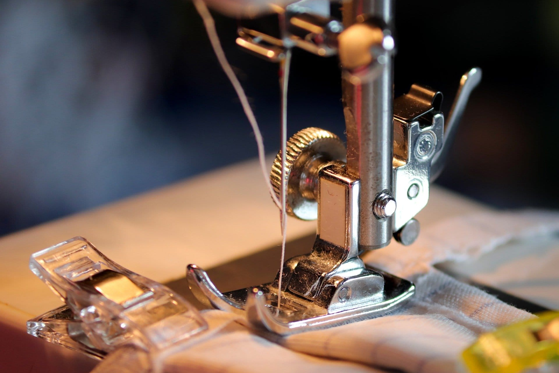 Can I use embroidery thread in my sewing machine?
