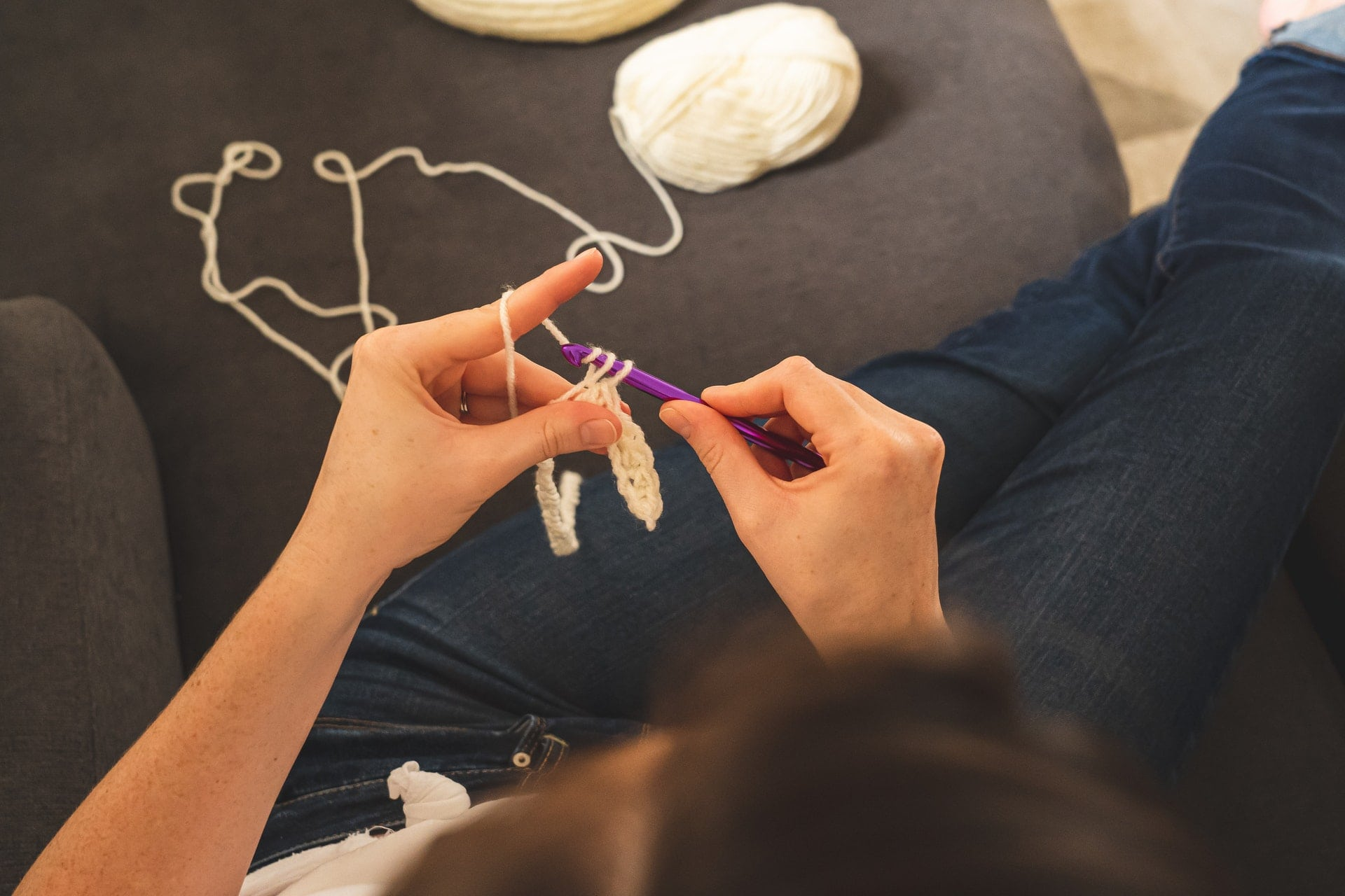 What is a slip stitch in crochet?