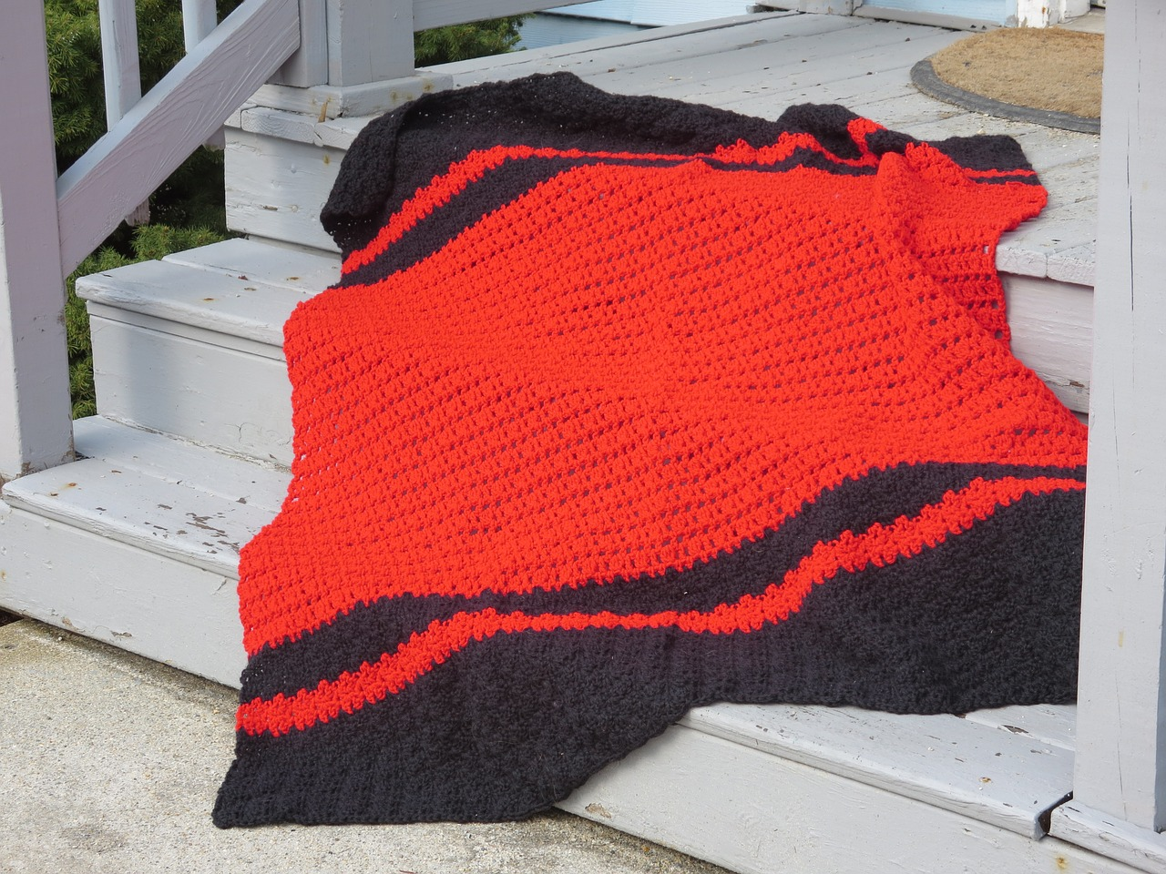 Can you make a crochet blanket wider?