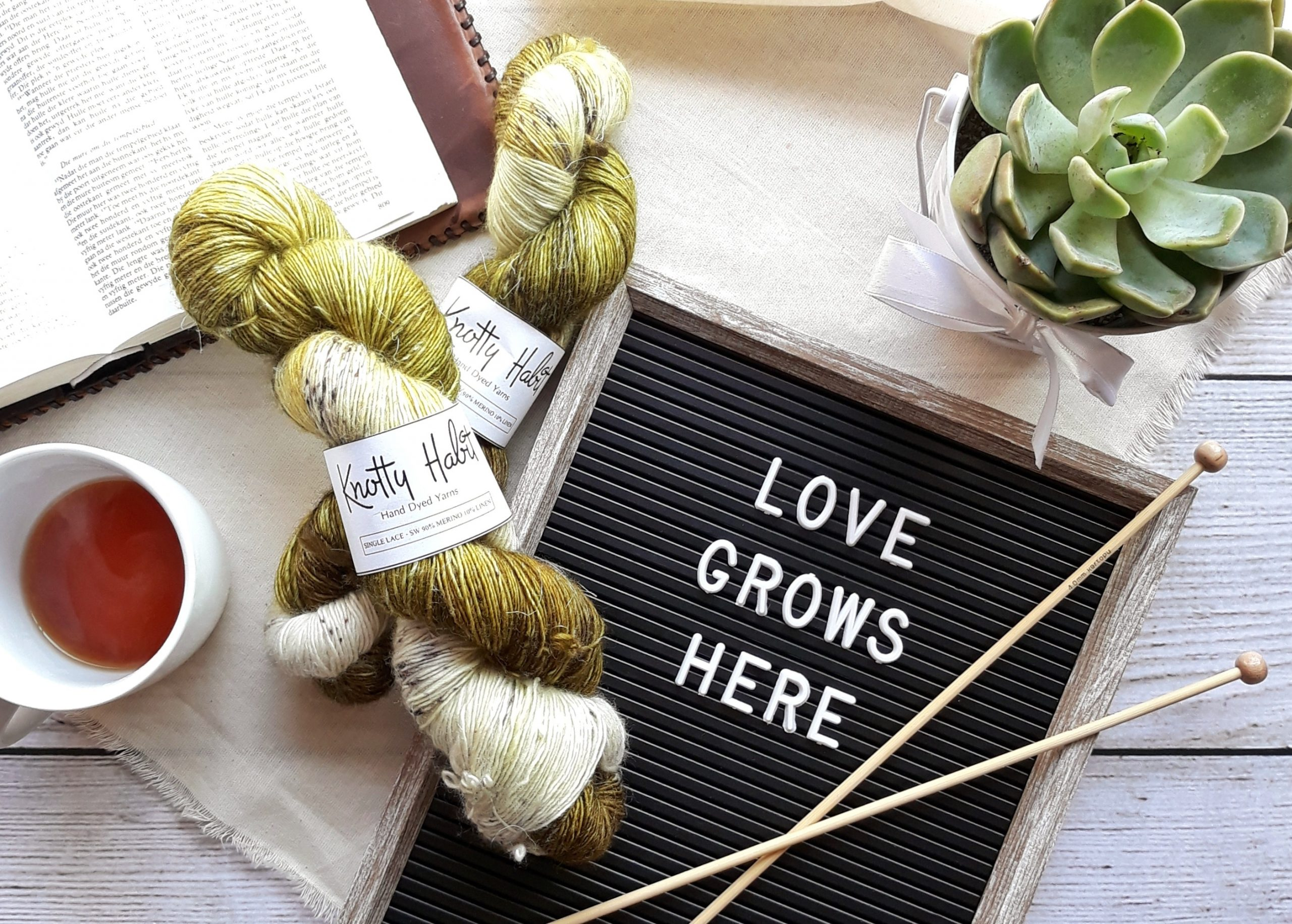 How to make yarn stiff for crafts?