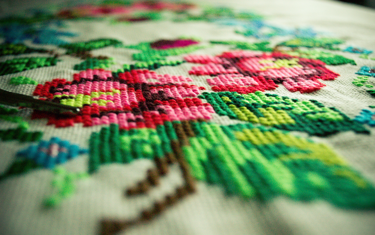 Is there a market for embroidery?