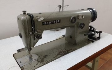 Do brother sewing machines have a metal frame?