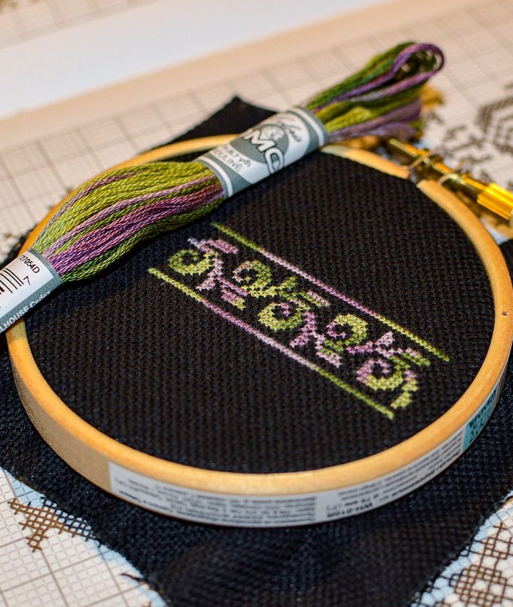 Can You Cross Stitch With A Punch Needle?