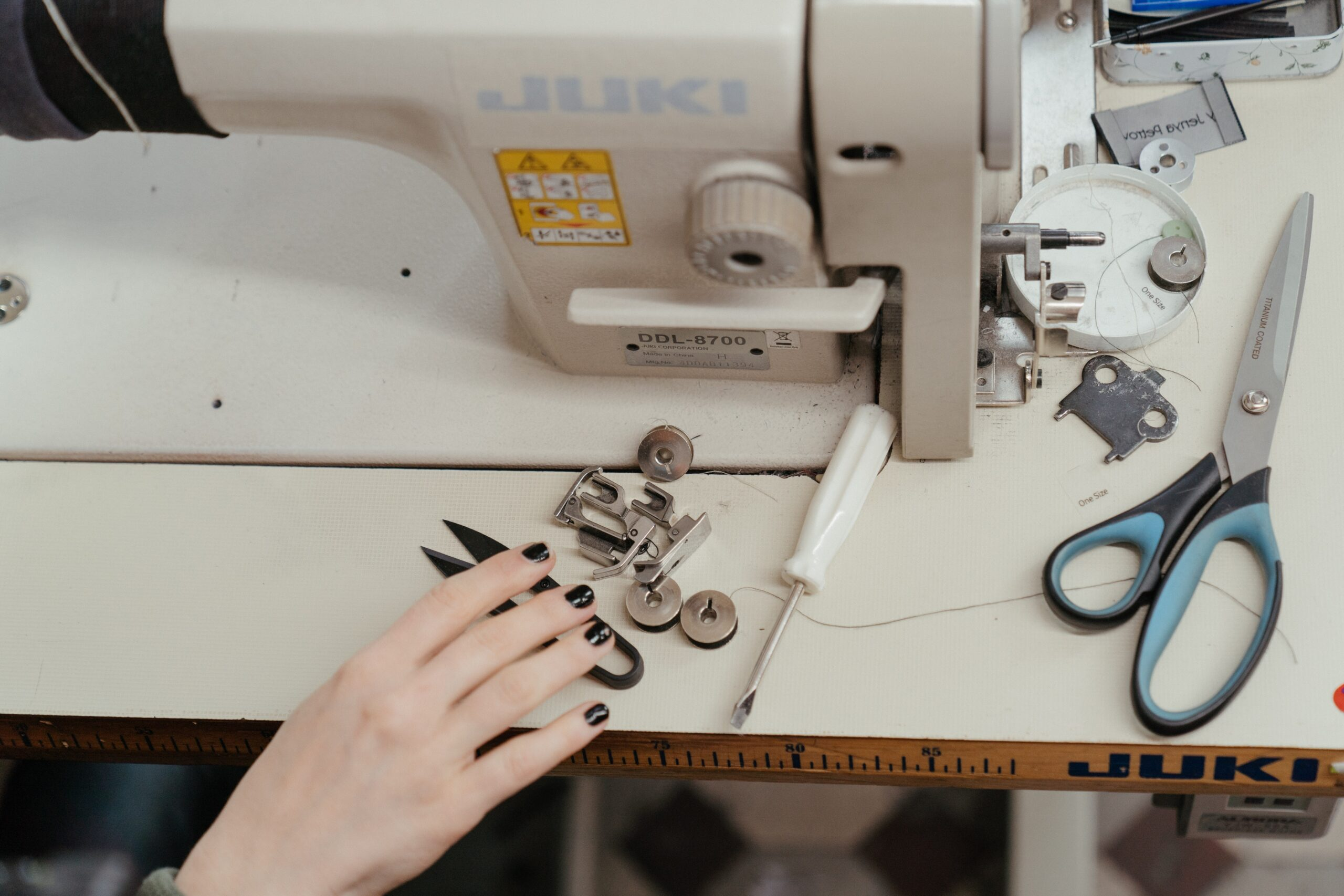 How many sewing machines do you need?