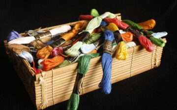 Can you knit well with embroidery floss?