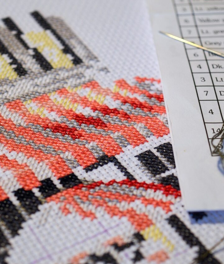 Can you cross stitch with one hand?