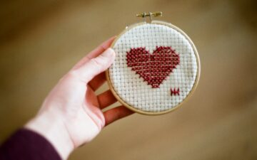 How to laminate cross stitch (the right way)
