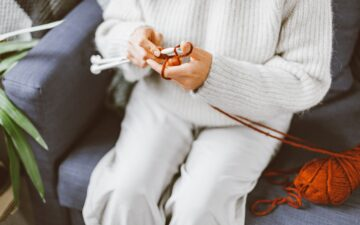 Knitting needles too slippery? Here's what to do!