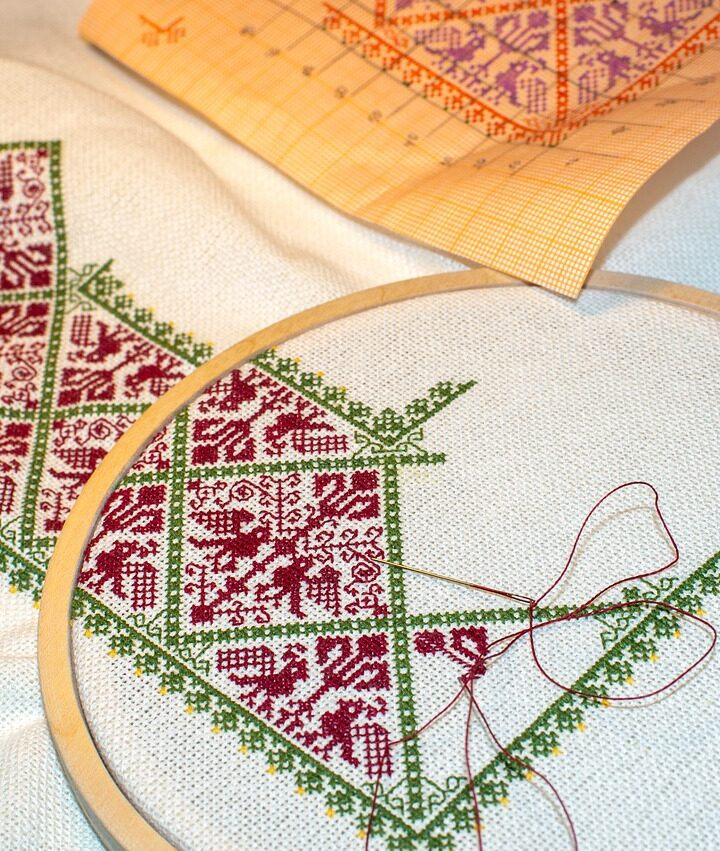 Guide: How to fix common cross stitch mistakes