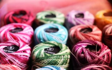 Embroidery thread 101: A guide to types and sizes