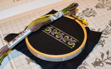 How to create your own cross stitch pattern in 3 steps